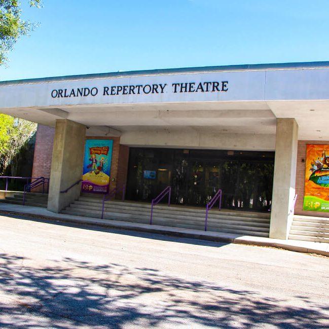 Photo of the Orlando Repertory Theatre main entrance