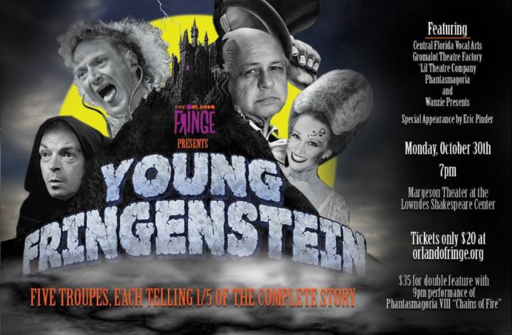 Poster for the Young Fringestein special event