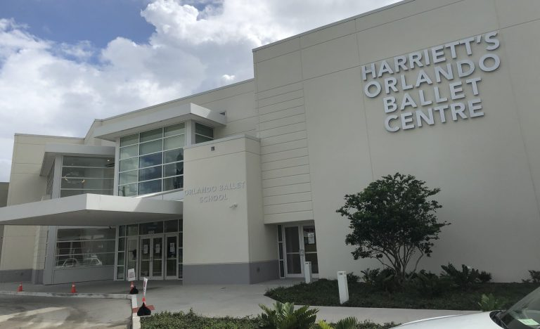 Exterior of Harriett's Orlando Ballet Centre