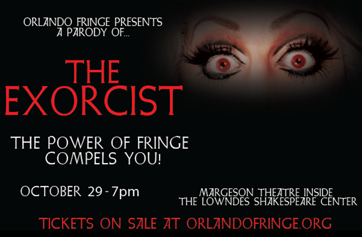 Poster for the Fringe Parody of The Exorcist