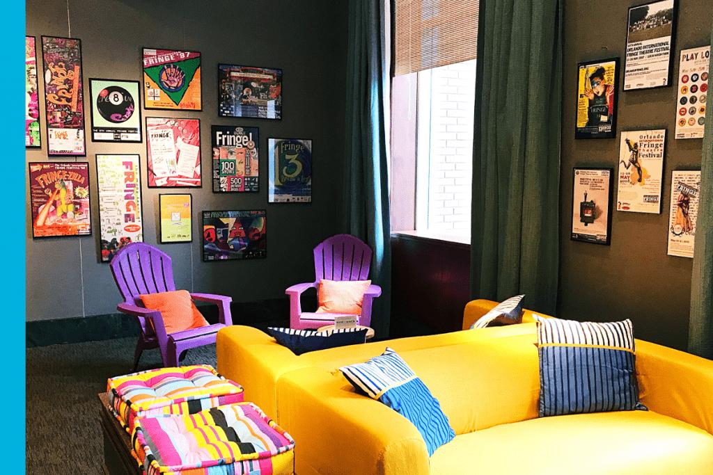Photo of the Club Fringe Lounge