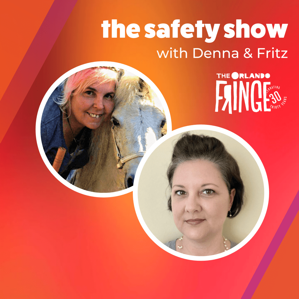 """Poster for """"The Safety Show with Denna and Fritz"""""""