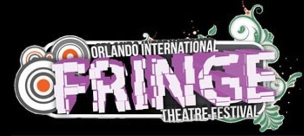 2012 Logo for Orlando Fringe featuring broken brick style.