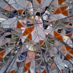 View through a kaleidoscope