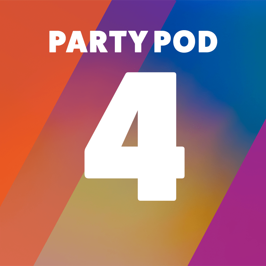 Party Pod 4 - Accessible