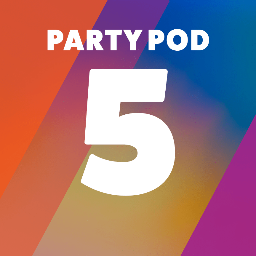 Party Pod 5 - Accessible