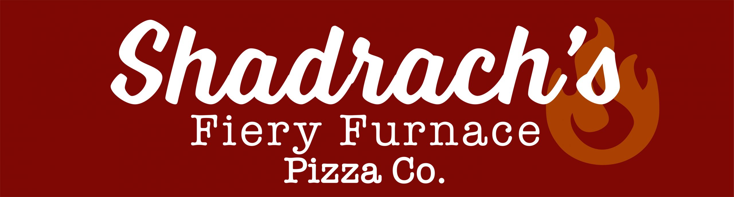Logo for Shadrach's Fiery Furnace Pizza Co.