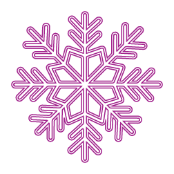 icon of a snowflake